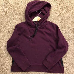 Purple Calvin Klein Hoodie